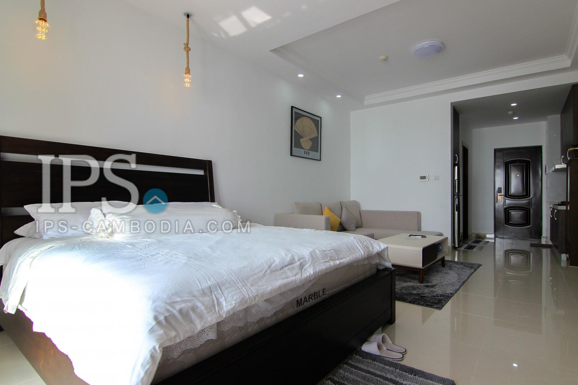 Studio Room Apartment For Rent - Tonle Bassac , Phnom Penh