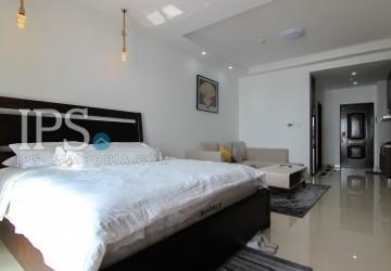 Studio Room Apartment For Rent - Tonle Bassac , Phnom Penh  thumbnail