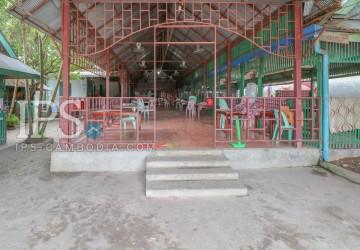 570 Sqm Land And Restaurant for Sale - Golden Lions Roundabout, Sihanoukville  thumbnail