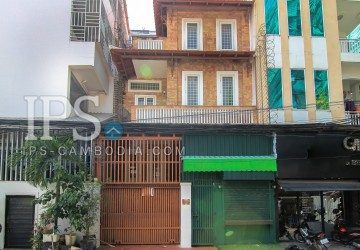 4 Bedroom Townhouse For Rent - BKK, Phnom Penh