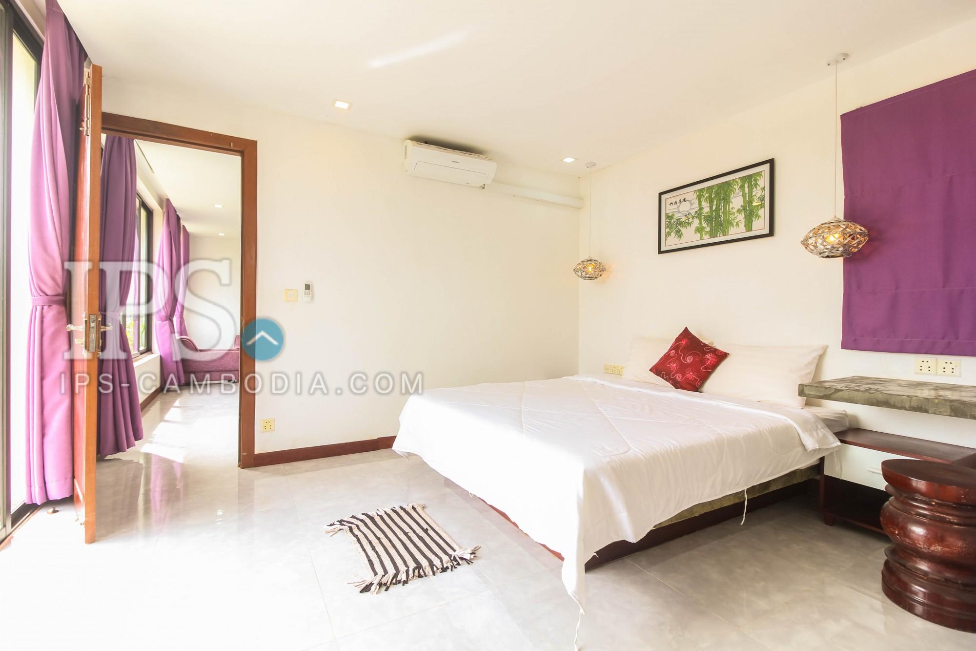 3 Modern Bedrooms Villa For Rent in Slor Kram, Siem Reap