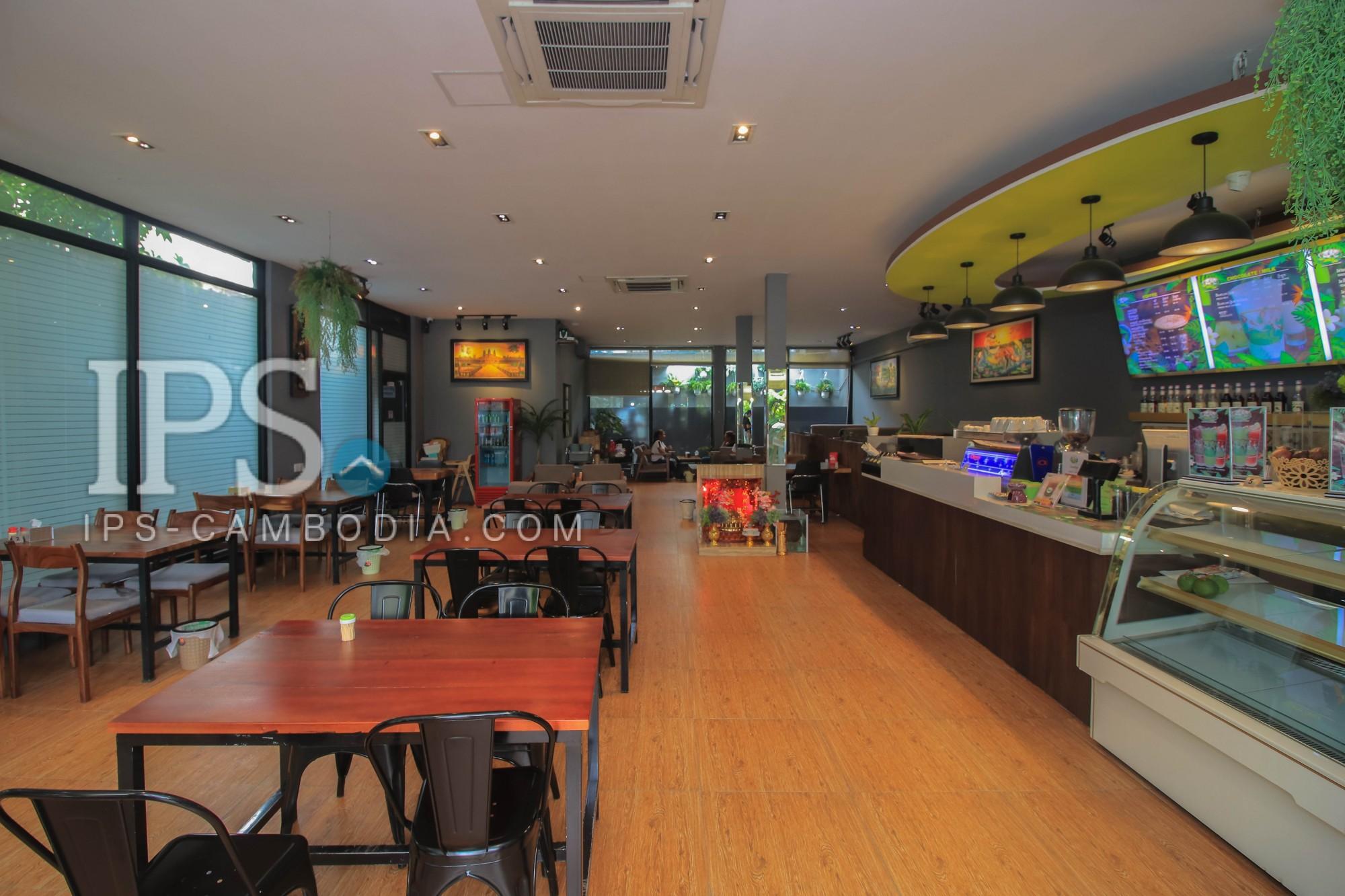 Coffee Shop Business for Sale - Phnom Penh Thmey