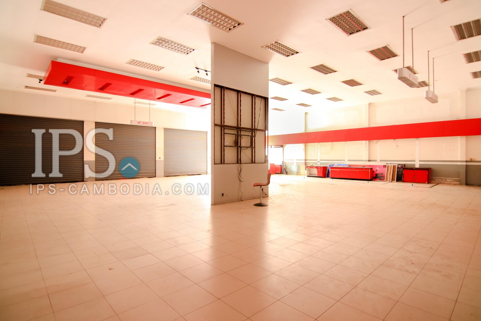 442 Sqm Commercial Shop-house for Rent - Boeung Trabek, Phnom Penh
