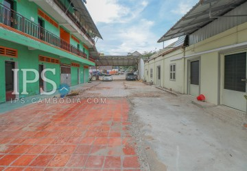 1,073 Sqm Land and House for Rent - Ekareach Street, Sihanoukville