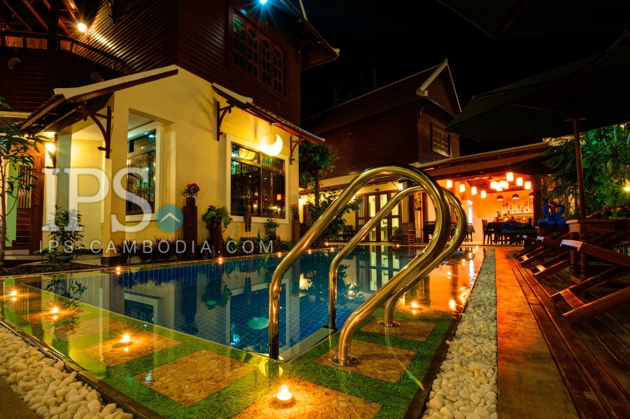 Siem Reap Boutique Hotel For Rent