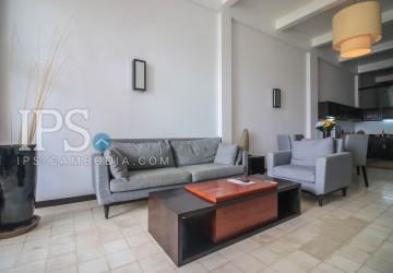 2 Bedrooms Apartment For Rent - Riverside, Phnom Penh