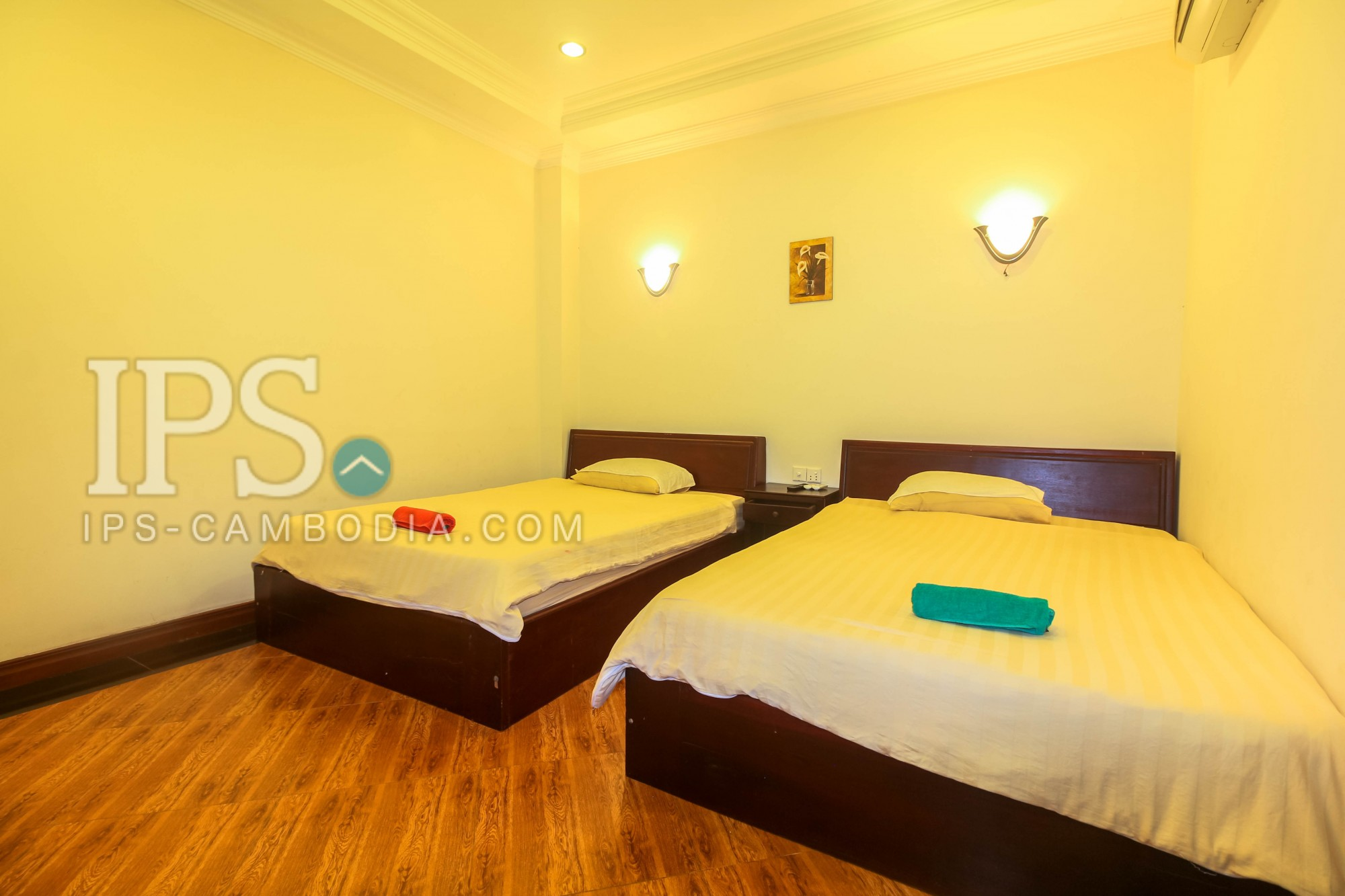 2 Bedrooms Apartment  For Rent - Sra Ngae, Siem Reap