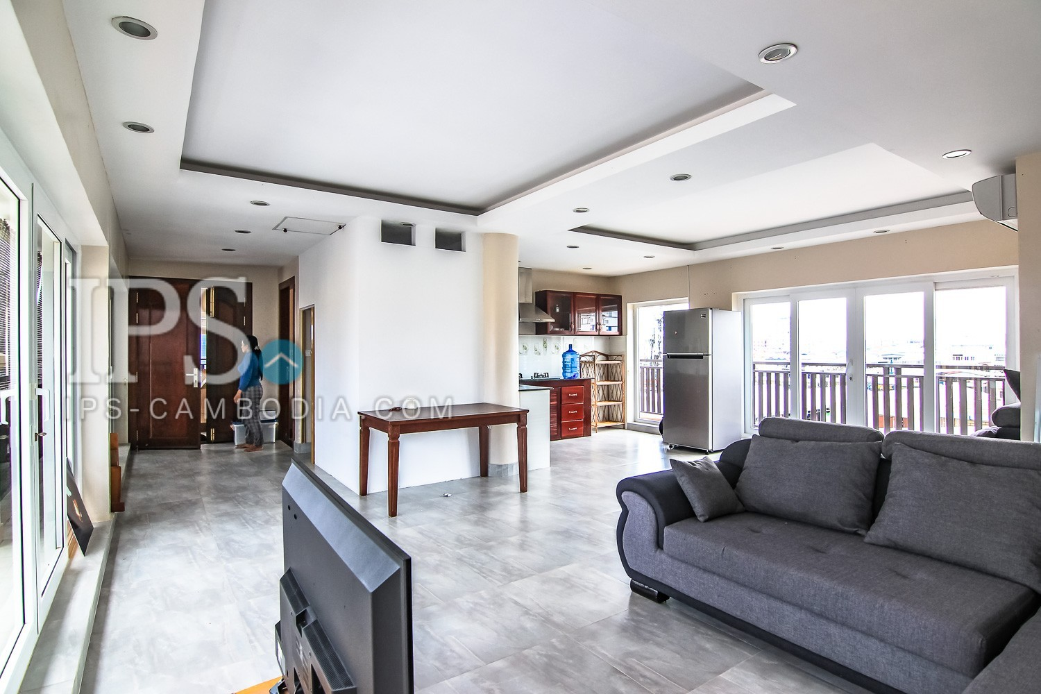 3 Bedrooms Apartment For Rent - Toul Tumpong,Phnom Penh
