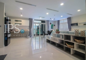 3 Bedroom Service Apartment For Rent in BKK2 , Phnom Penh