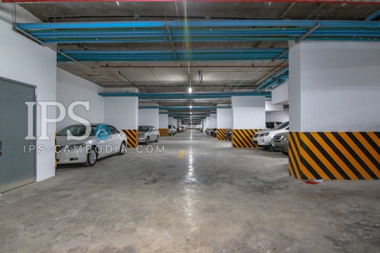Studio Room Apartment For Rent - 7 Makara, Olympic Stadium Area, Phnom Penh