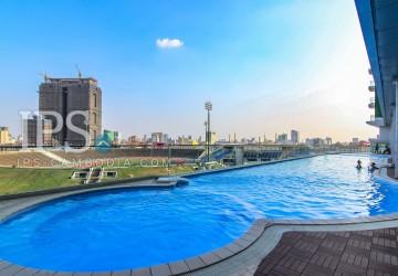 Studio Room Apartment For Rent - 7 Makara, Olympic Stadium Area, Phnom Penh  thumbnail