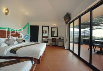 19 Room Boutique Hotel For Rent in Svay Dangkum, Siem Reap thumbnail