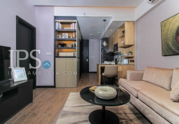 Studio Room Condo For Rent - Tonle Bassac, Phnom Penh