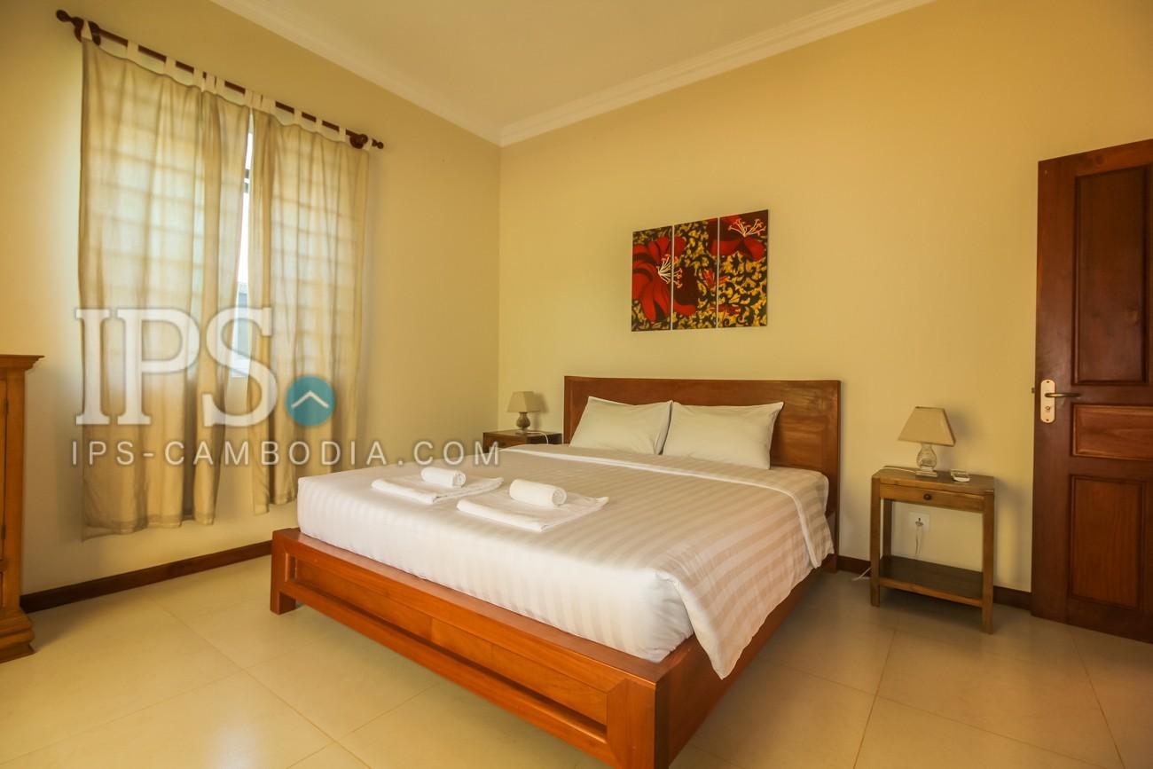 1 Bedroom Service Apartment For Rent - Svay Dangkum, Siem Reap