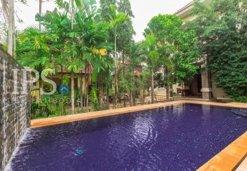4 Bedroom Villa For Rent in Kouk Chak, Siem Reap