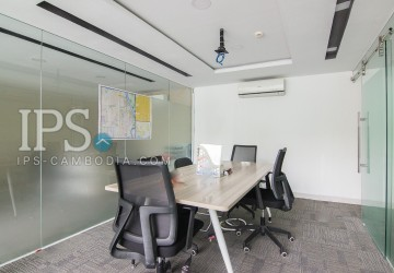 66.60 Sqm Ground Floor Office Space For Rent In BKK1, Phnom Penh