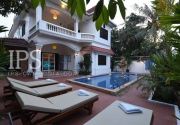 15 Rooms Guest House For Rent - Sala Kamreuk, Siem Reap
