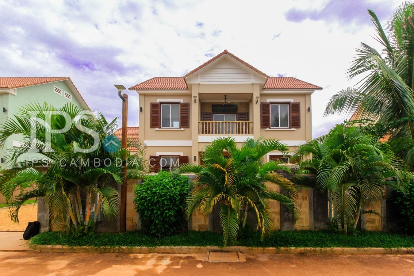 4 Bedrooms Villa For Rent - Svay Dangkum, Siem Reap