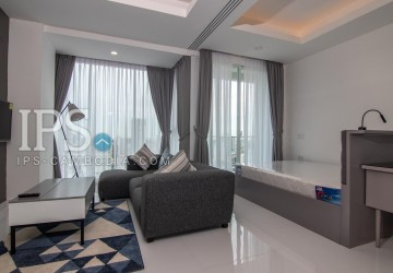 21st Floor Studio Apartment For Sale - Tonle Bassac, Phnom Penh