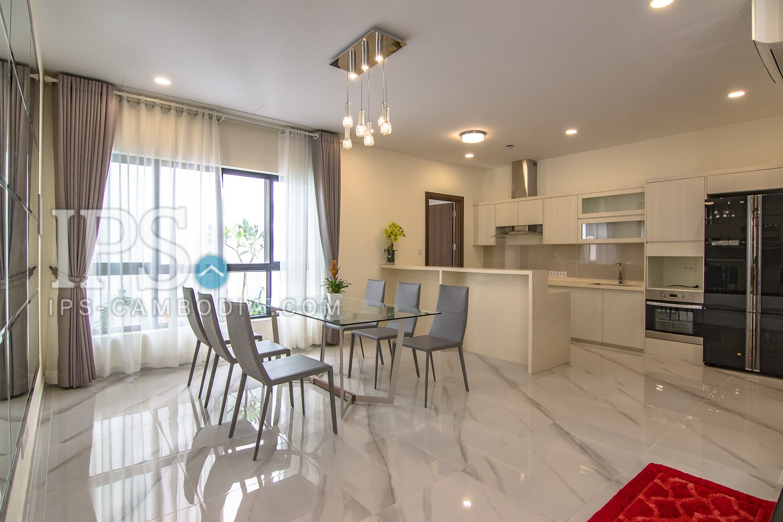 Contemporary-4 Bedrooms Villa For Rent- Sras Chok, Daun Penh, Phnom Penh