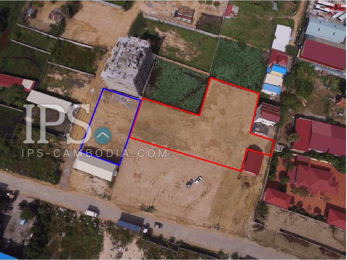 823sqm and 2,411sqm Land For Sale - Phnom Penh Thmey, Phnom Penh