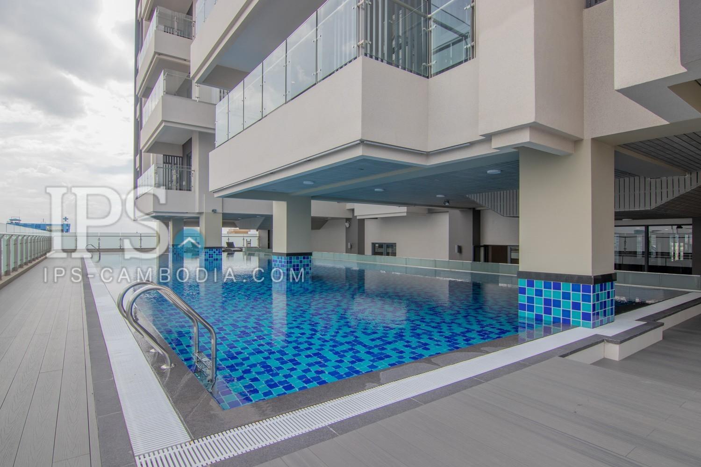 1 Bedroom Serviced Apartment  For Rent - Toul Kork , Phnom Penh