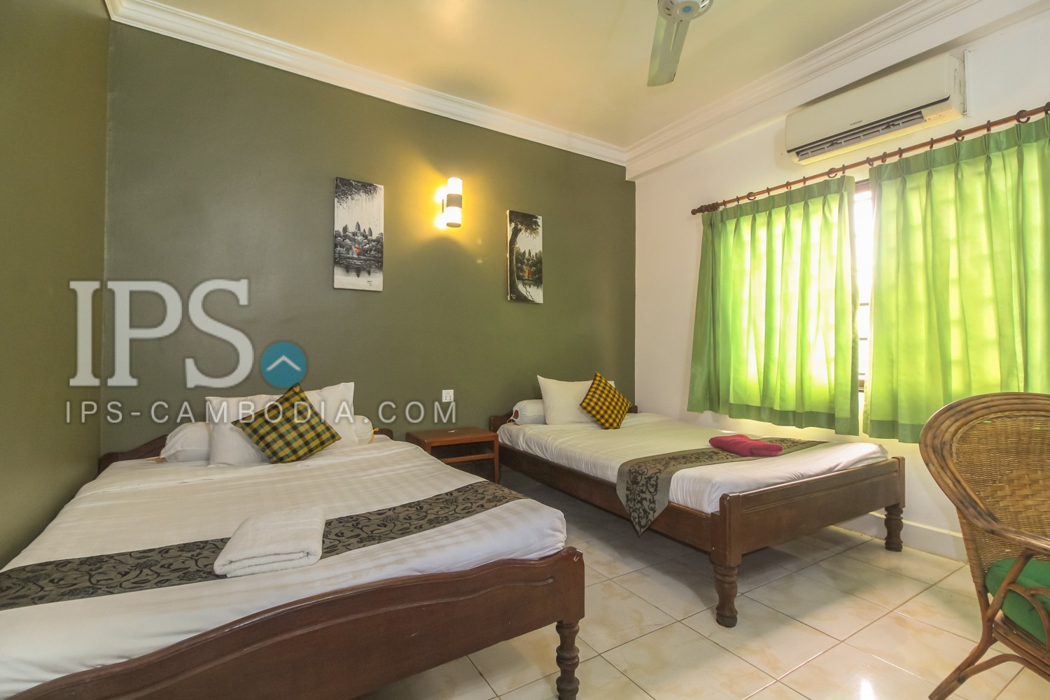 17 Room Guesthouse Business for Rent- Siem Reap