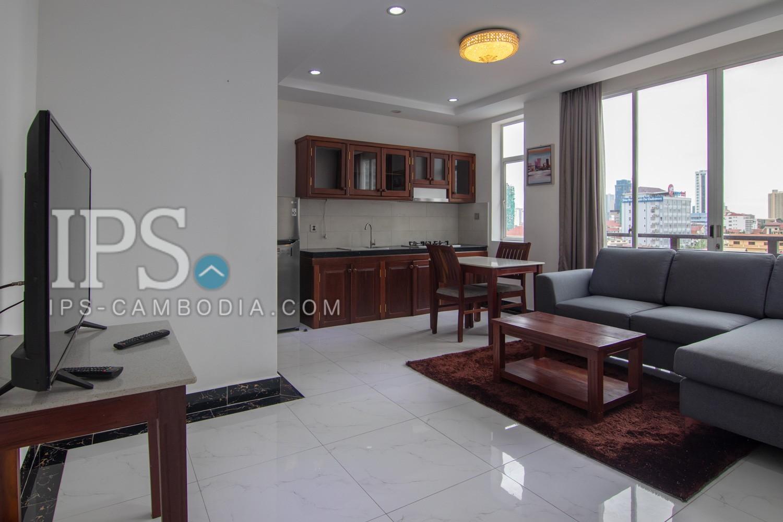1 Bedroom Service Apartment For Rent - Boeung Trabek, Phnom Penh