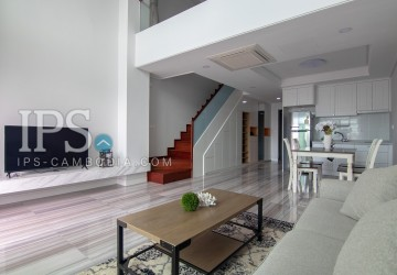 1 Bedroom Serviced Apartment For Rent - BKK1, Phnom Penh
