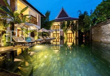 16 Room Boutique Hotel Business For Sale - Wat Bo, Siem Reap