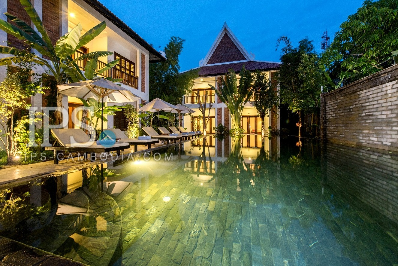 16 Room Hotel For Rent - Wat Bo, Siem Reap
