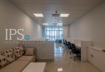1000 Sqm-Office Space For Rent in Tonle Bassac, Phnom Penh
