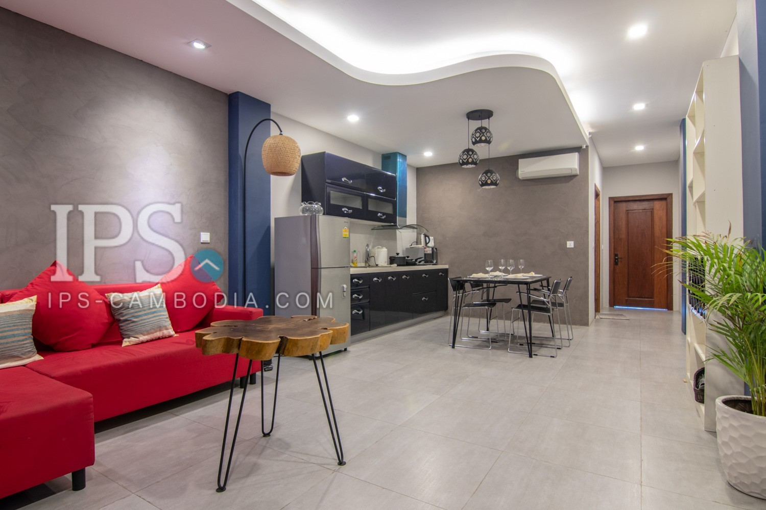 1 Bedroom Services Apartment For Rent in Phsar Kandal 1, Phnom Penh