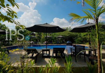 14 Rooms Boutique Hotel For Sale - Chreav, Siem Reap