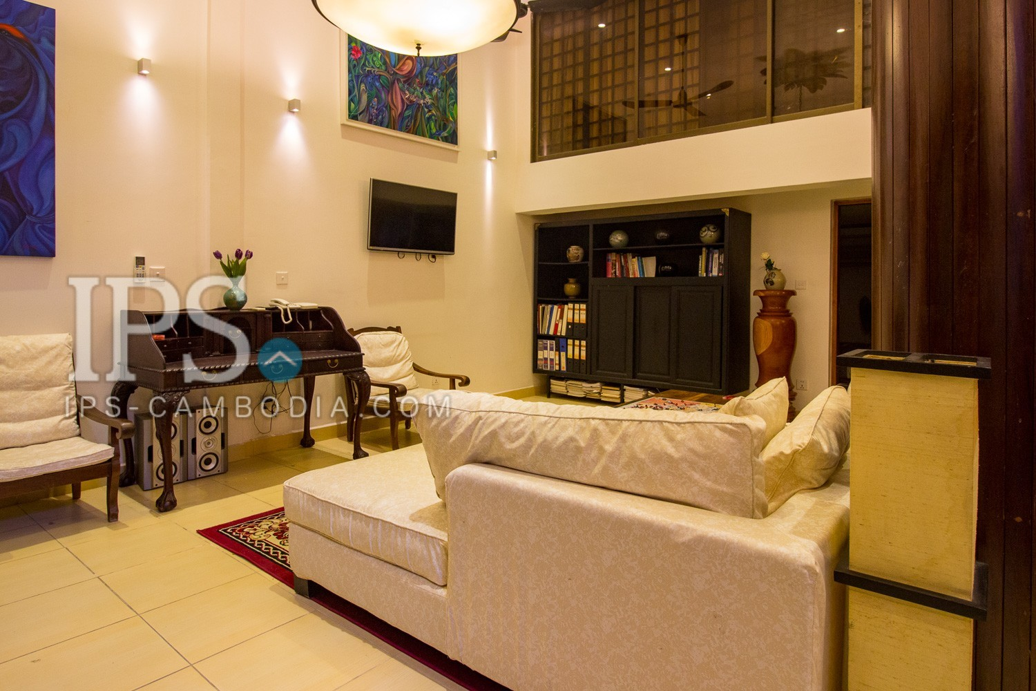 2 Bedroom Apartment For Rent - Toul Svay Prey 1, Phnom Penh