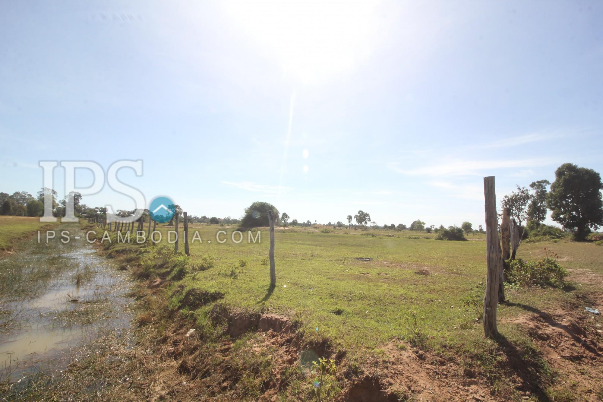 7,595 sq. m Land For Sale - Prasat Bakong District, Siem Reap