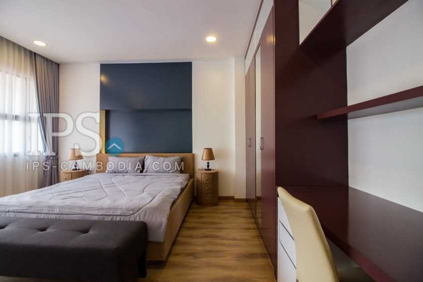 2 Bedroom Apartment For Rent - Srah Chork, Phnom Penh