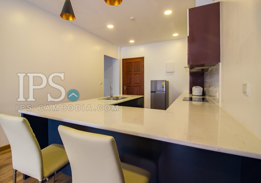 2 Bedroom Apartment For Rent - Srah Chork, Phnom Penh