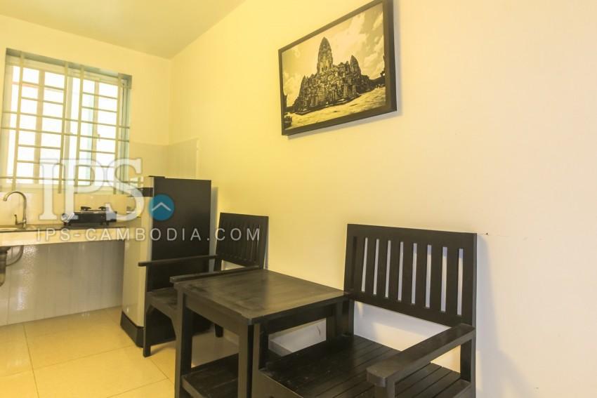 Compact 1 Room Flat  For Rent -  Sala Kamreuk, Siem Reap