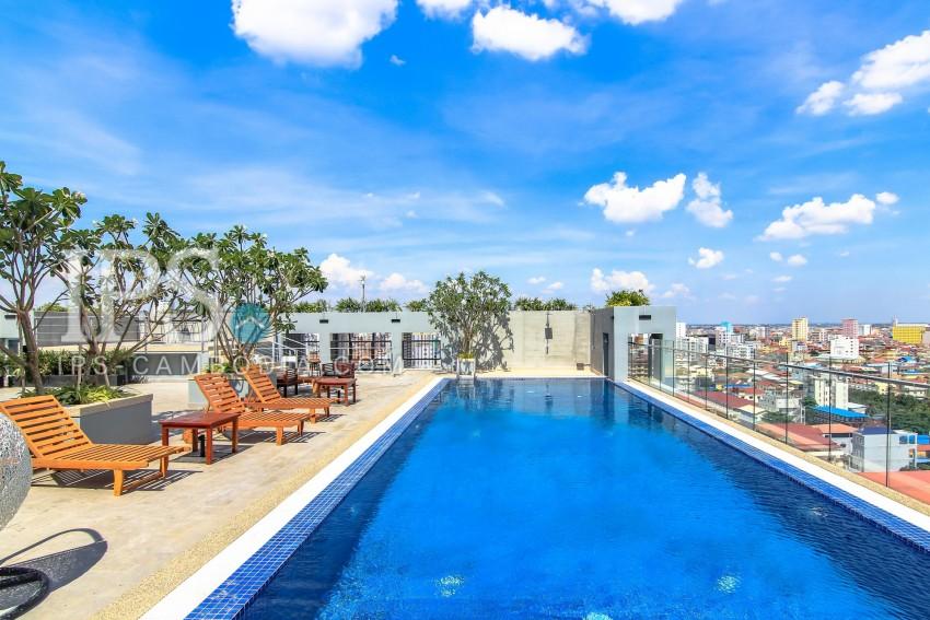 Studio Apartment For Rent - Boeung Tumpun, Phnom Penh