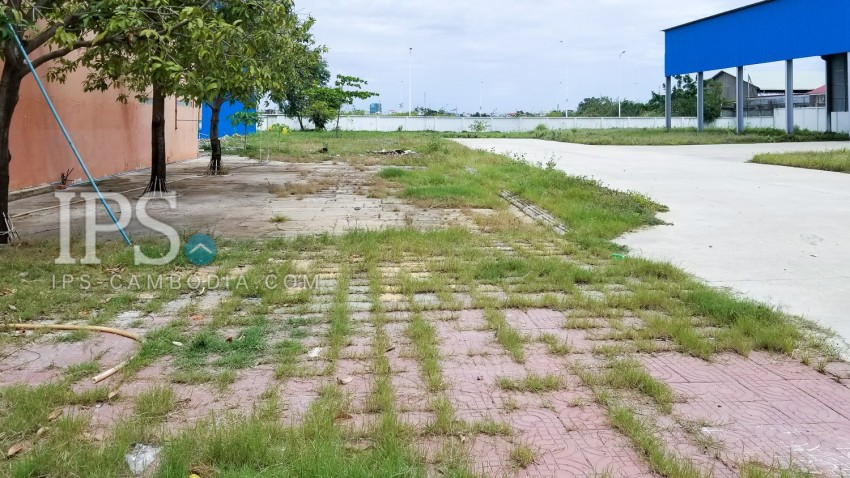 5,360 Sqm Land For Rent -  Chroy Changva, Phnom Penh