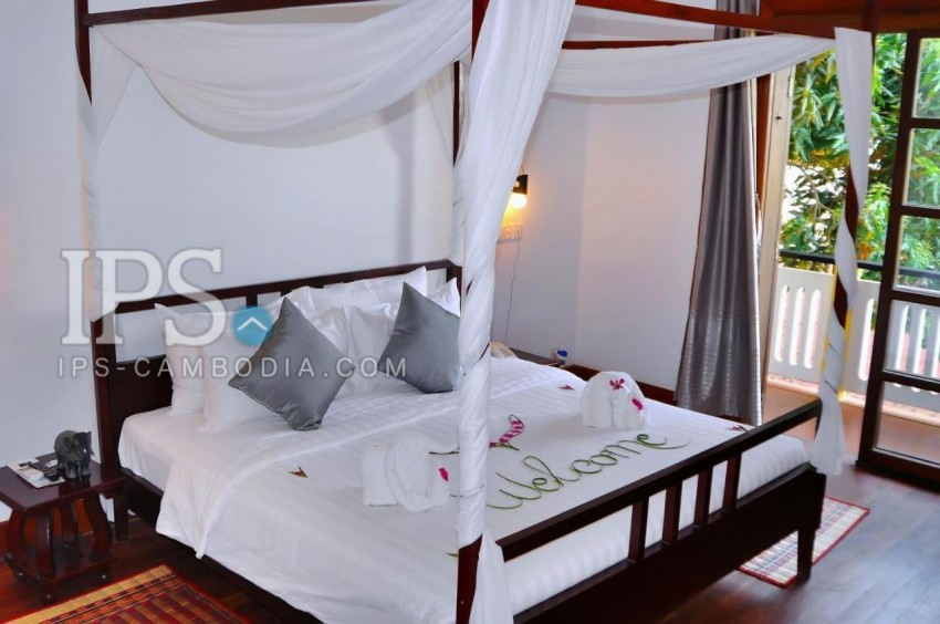 19 Room Boutique Hotel For Rent in Svay Dangkum, Siem Reap