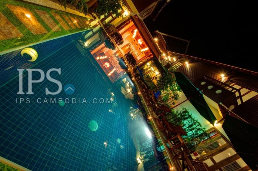 Siem Reap Boutique Hotel For Rent