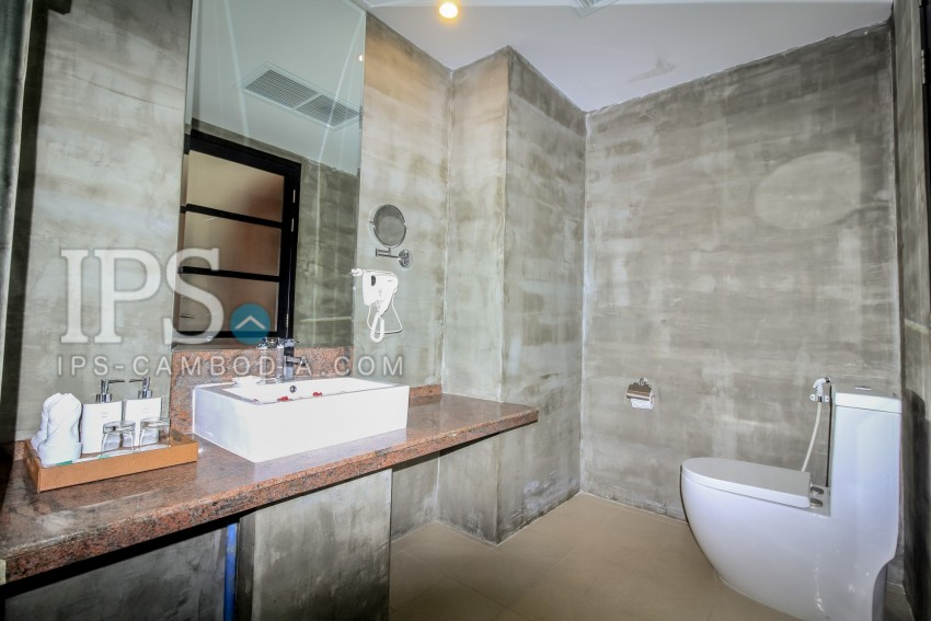 2 Bedroom Serviced Apartment  For Rent - Siem Reap