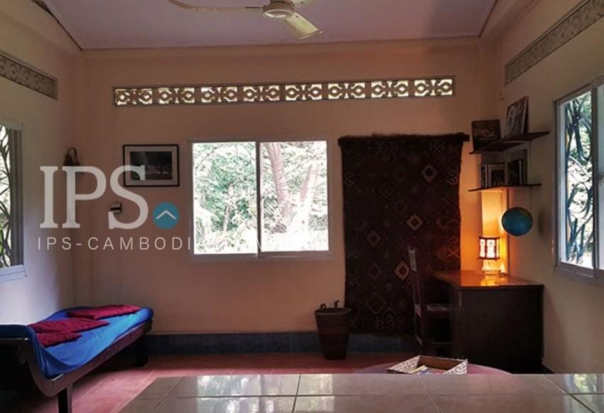 Western-built Villas and Bungalows For Rent - Svay Dangkum, Siem Reap