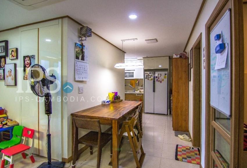 2 Bedroom Apartment For Sale - De Castle Royal, Phnom Penh