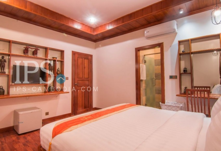 14 Units Apartment Building for Rent in Siem Reap- Ta Phul Village