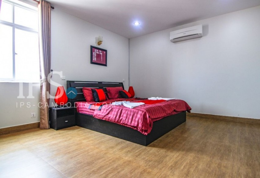 Serviced Apartment For Rent in Phnom Penh - One Bedroom in Toul Svay Prey