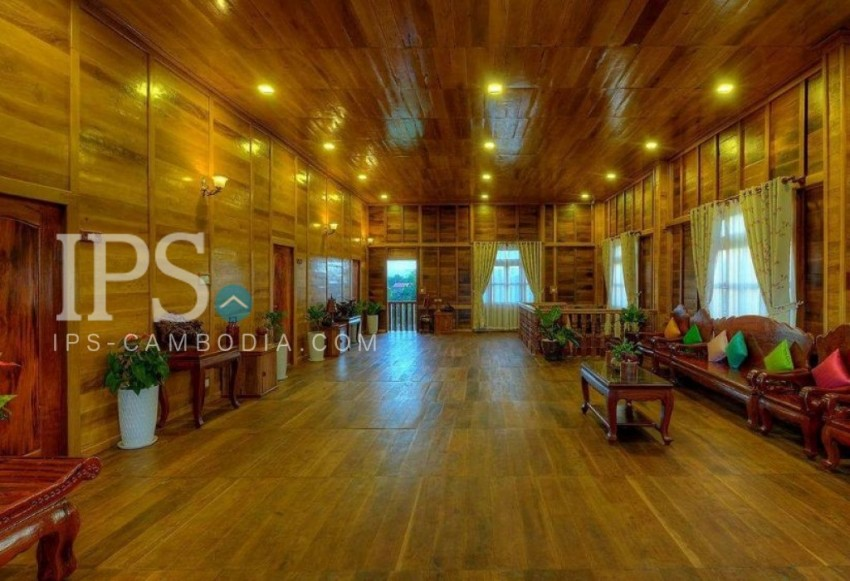 10 Rooms Boutique Hotel Business For Sale - Svay Dongkum,Siem Reap