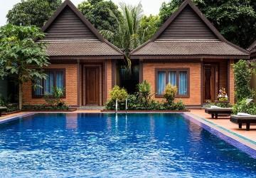 9 Villa of  Boutique Hotel For Rent -  Kouk Chak, Siem Reap
